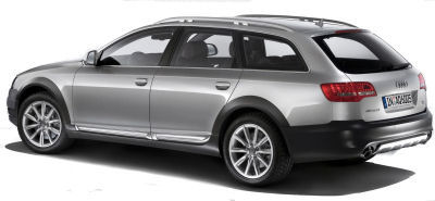 Présentation de la sublime Audi A6 Allroad Quattro de 2009.