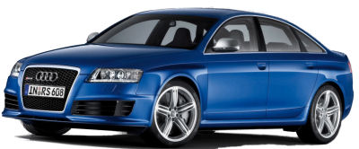 Présentation de la version ultra-sportive de l'Audi A6; l'<b><u>Audi RS6</u></b> de 2009.